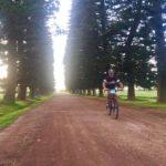 Holla Trails cyclist